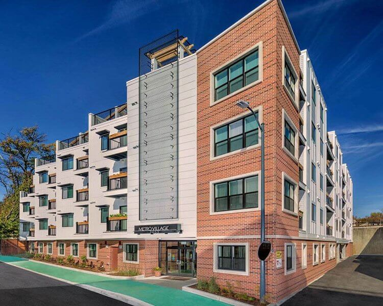 Metro Village Apartments Exterior