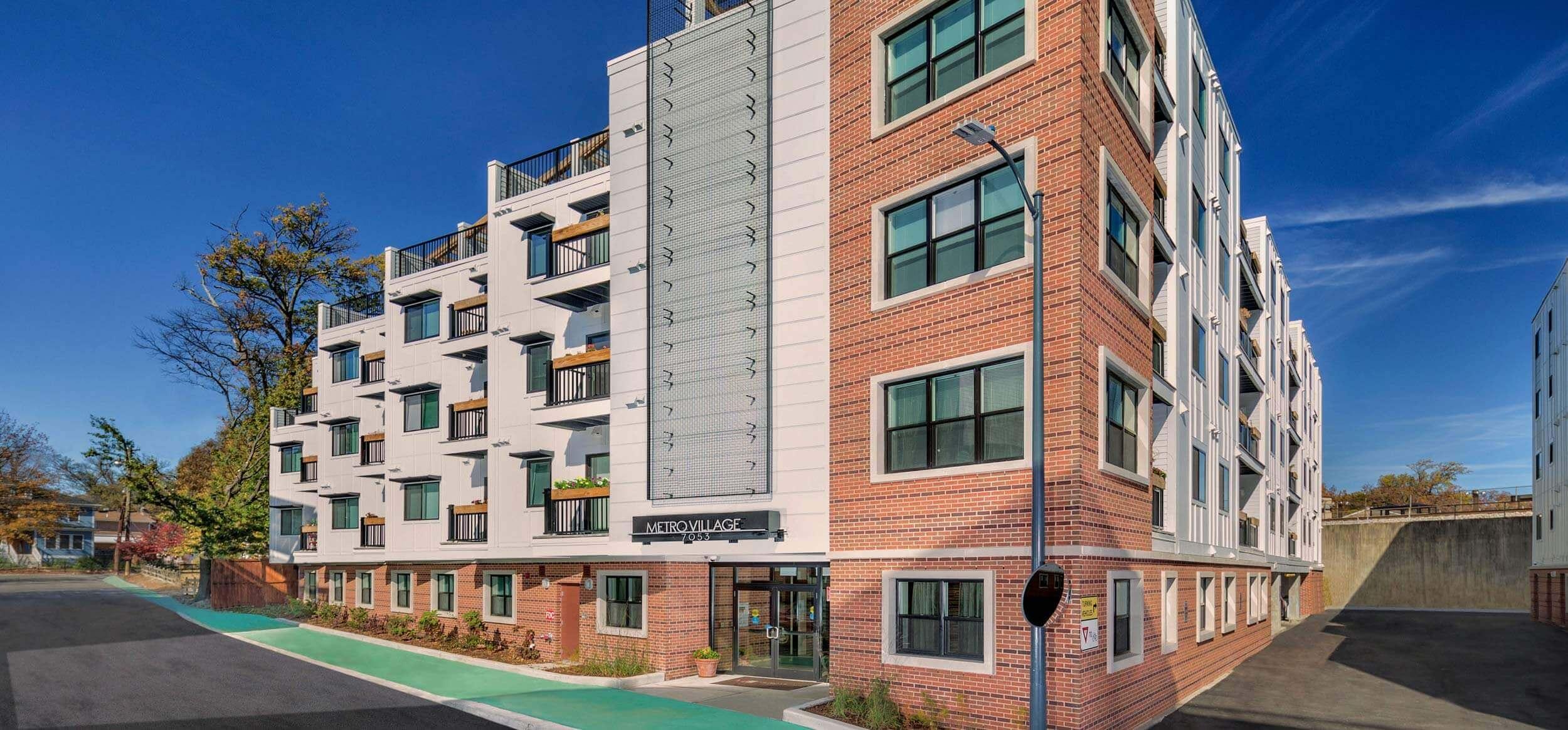 apartments in takoma park metro village