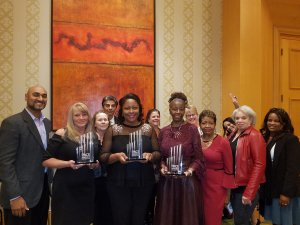 Employees of ResidentialONE Properties receiving 2018 PMA PACE Awards