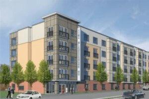 1164 Bladensburg Apartments rendering