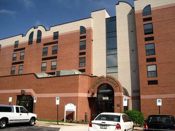 Diamond Square Apartments exterior