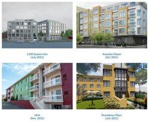Various apartment communities
