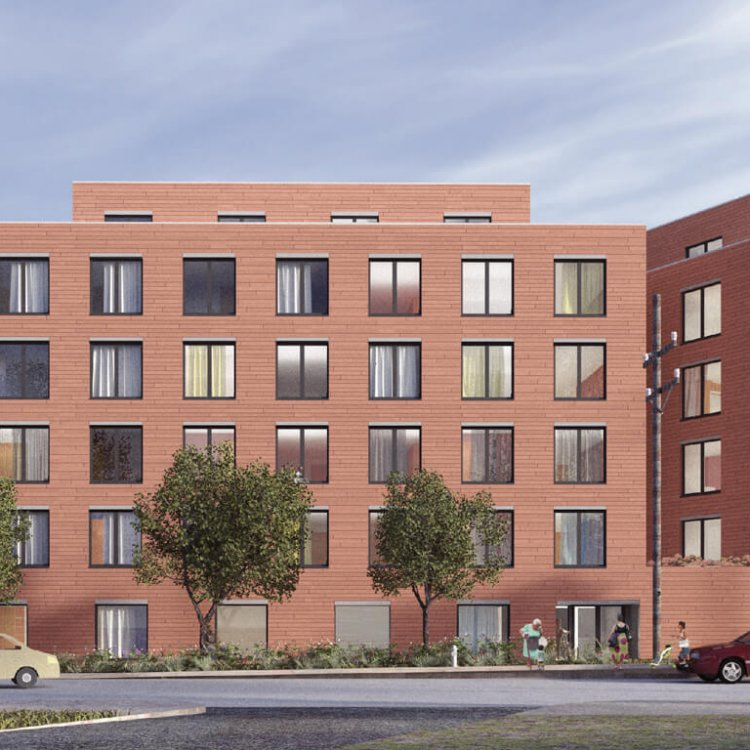11Hundred Apartments exterior rendering