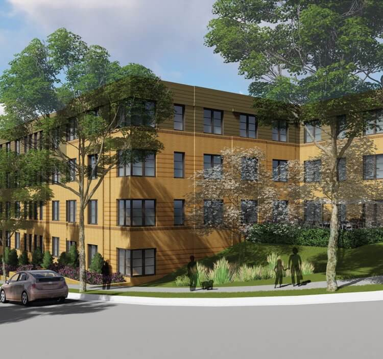 Providence Place Apartments exterior rendering